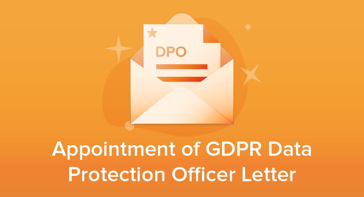 Appointment of GDPR Data Protection Officer Letter