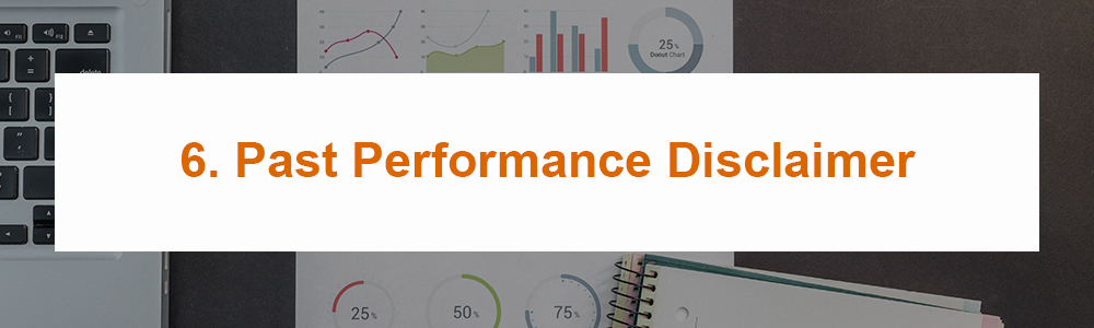 6. Past Performance Disclaimer