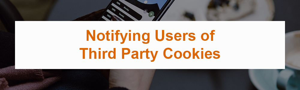 Notifying Users of Third Party Cookies