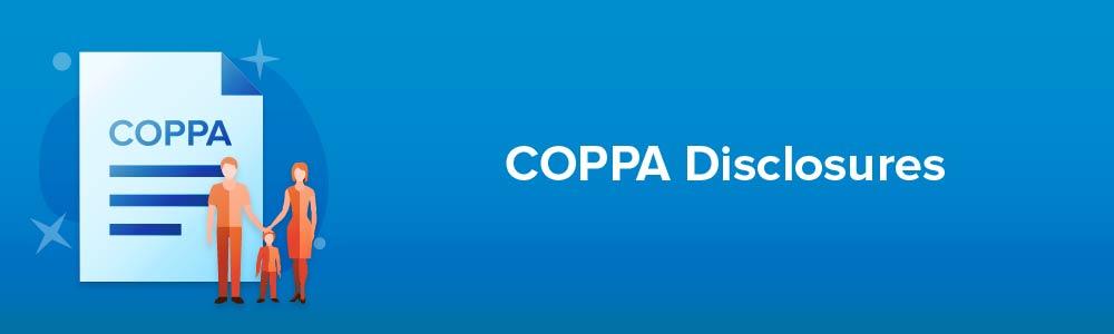 COPPA Disclosures