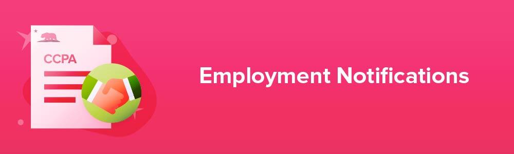 Employment Notifications