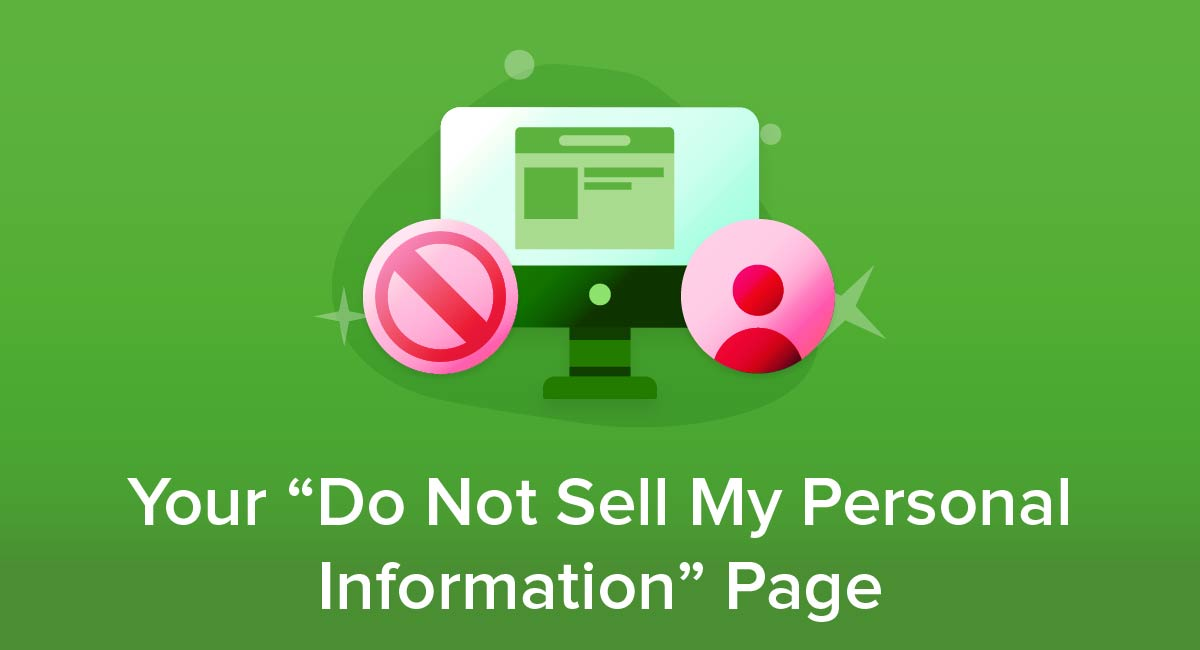 "Your ""Do Not Sell My Personal Information"" Page"