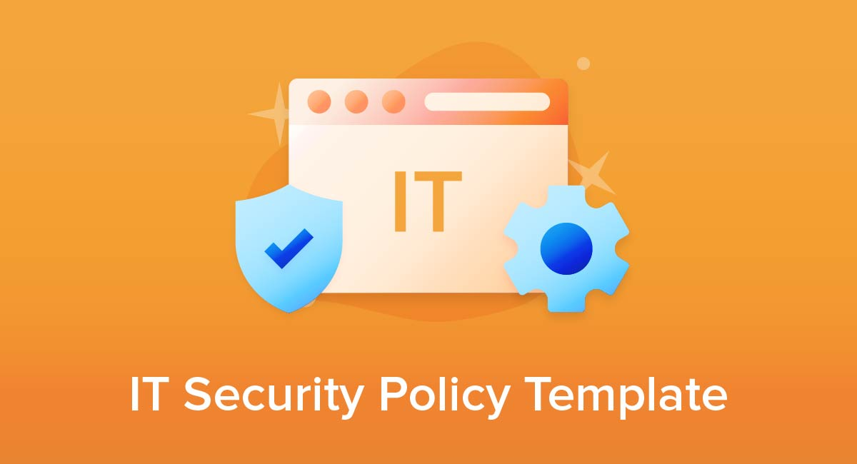 IT Security Policy Template