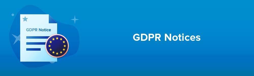 GDPR Notices