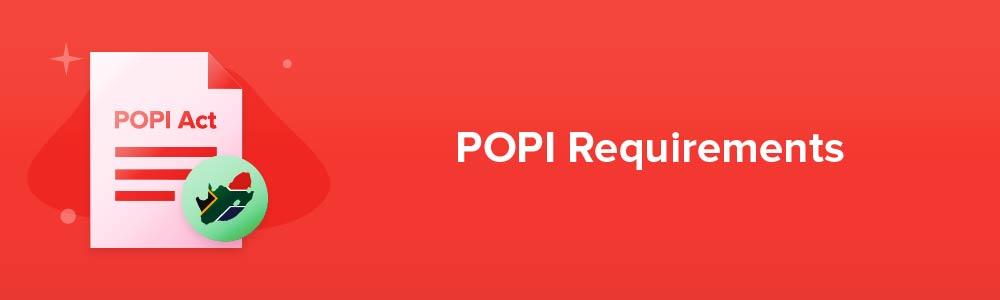 POPI Requirements
