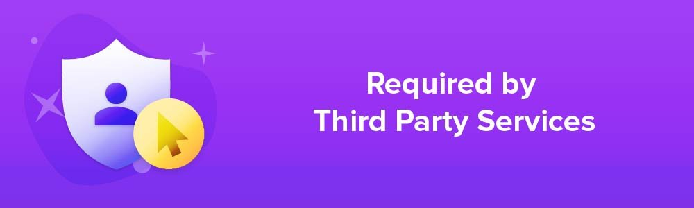 Privacy Policies Required by Third Parties